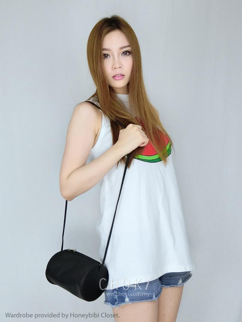 Choki Sling Bag - 5048 Choki Cylinder Mini Sling RM39.00