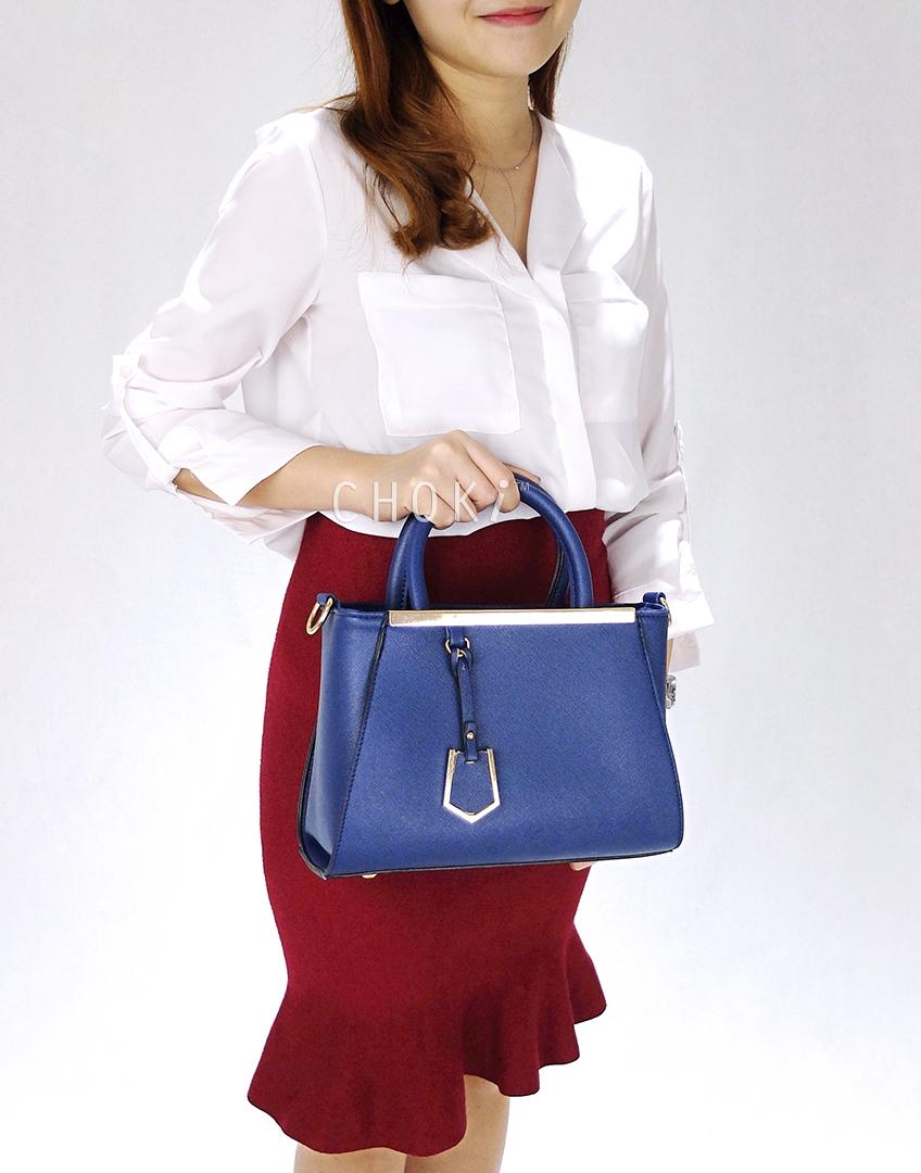 Choki Handbag - 6043 Elegant Classic Handbag with Mini Tag RM65.00
