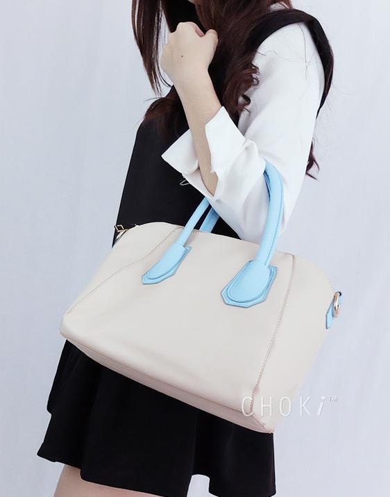 Choki Handbag - 5125 Choki Macaron Color Handbag with Sling RM49.00