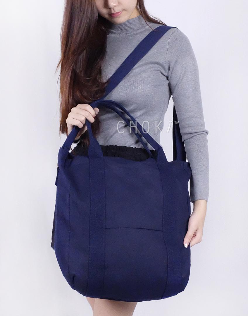 Choki Shoulder Bag - 6053 Choki Korean Canvas Tote Bag RM49.00