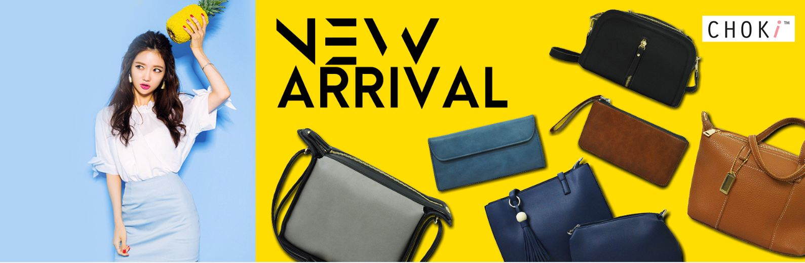 Choki.com.my - New arrival bags: Start From November 2017