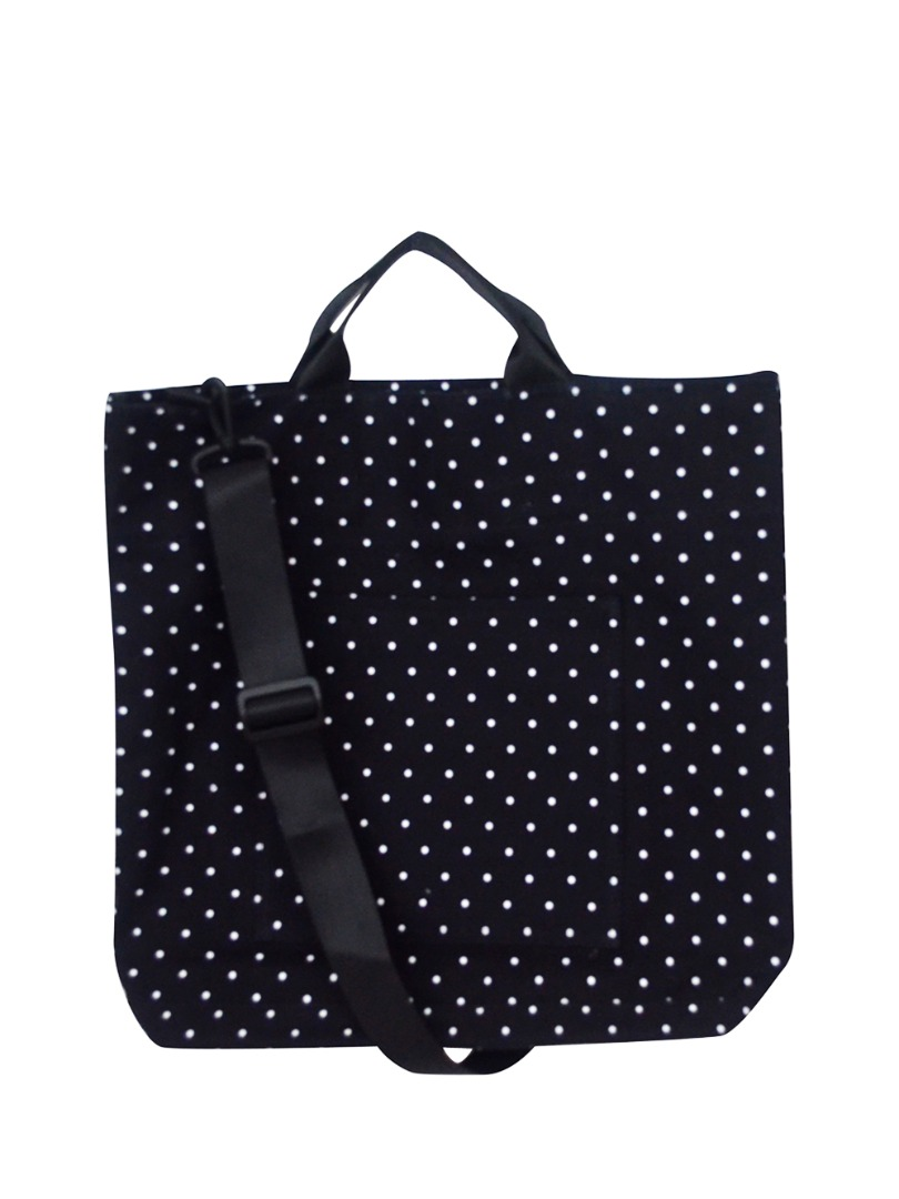 Choki Shoulder Bag - 5147 Korean Polka Dot Tote *Best Seller in Korea* Black RM59.00