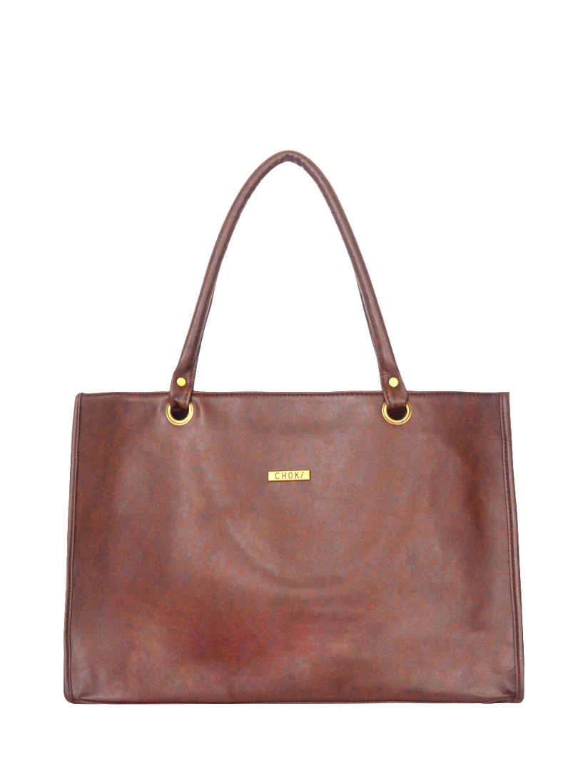 Choki Shoulder Bag - 5122 Choki Signature Office Lady Handbag *Best Seller in Korea* Brown RM49.00