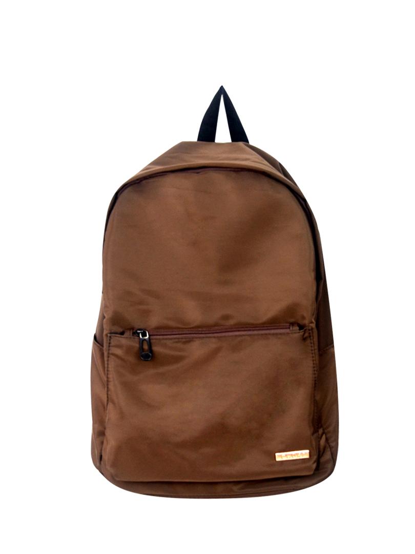 Choki Backpack - 5187 Choki Signature Fabric Unisex Backpack Brown RM59.00