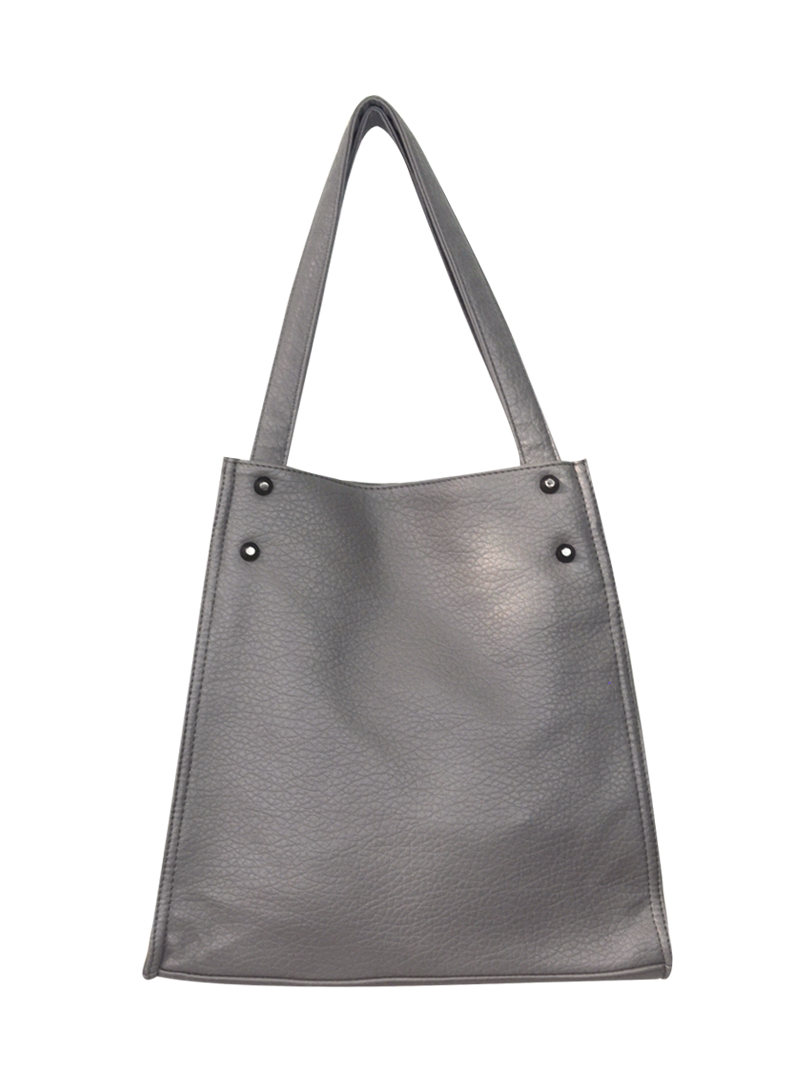 Choki Shoulder Bag - 5136 Choki Signature Korean Soft PU Handbag Grey RM59.00