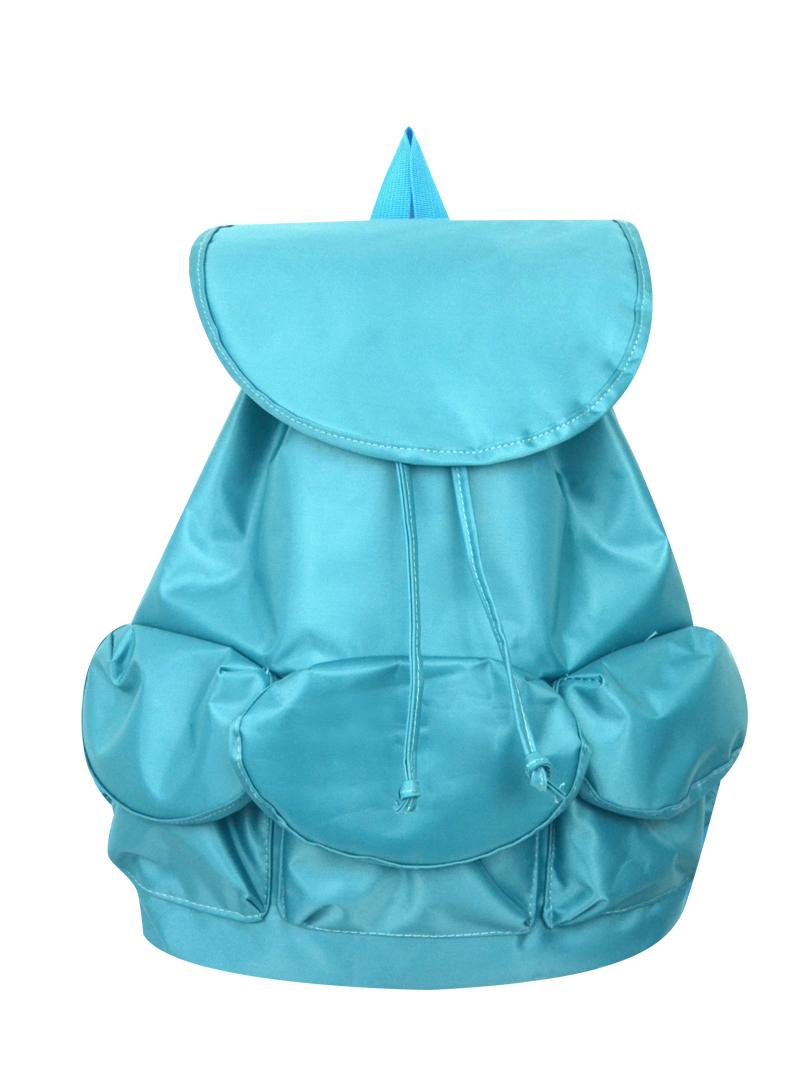 Choki Backpack - 5185 Choki Colorful Nylon Water Resistant Backpack Blue RM55.00