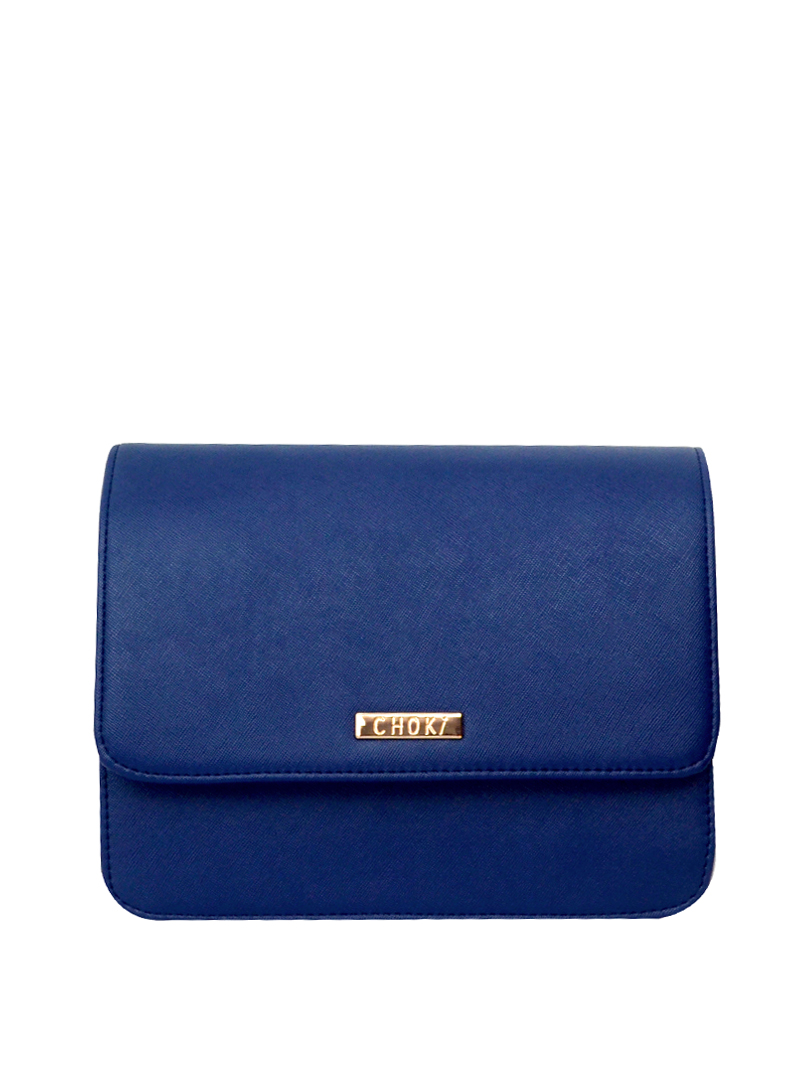 Choki Sling Bag - 5135 Choki Signature Elegant Pastel Color Sling Blue RM59.00