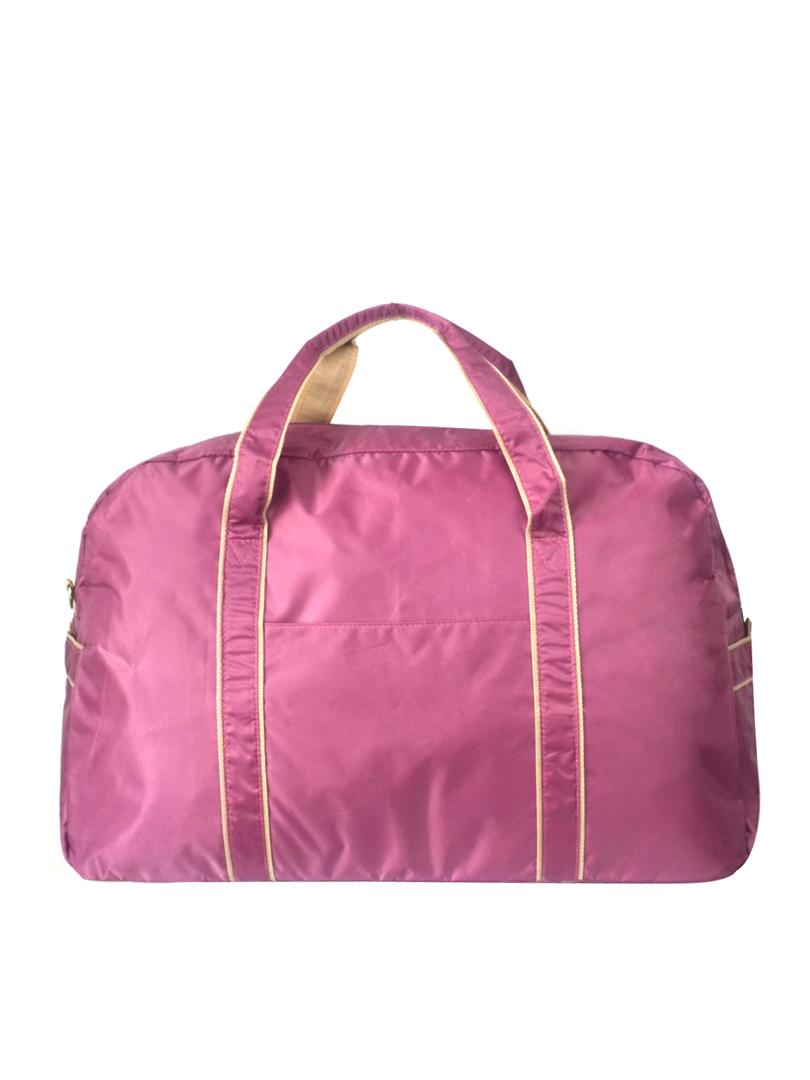 Choki travel bag - T001 Choki Light Weight Foldable Travel Bag (Big) Purple RM79.00