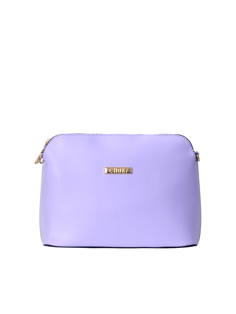 Choki Sling Bag - 5134 Choki Signature Seashell Sling Purple RM55.00