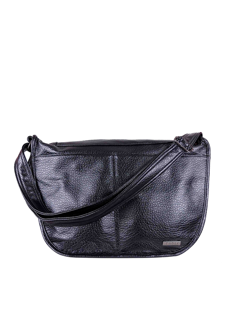 Choki Sling Bag - 6047 Softly PU Sling Bag Black RM59.00