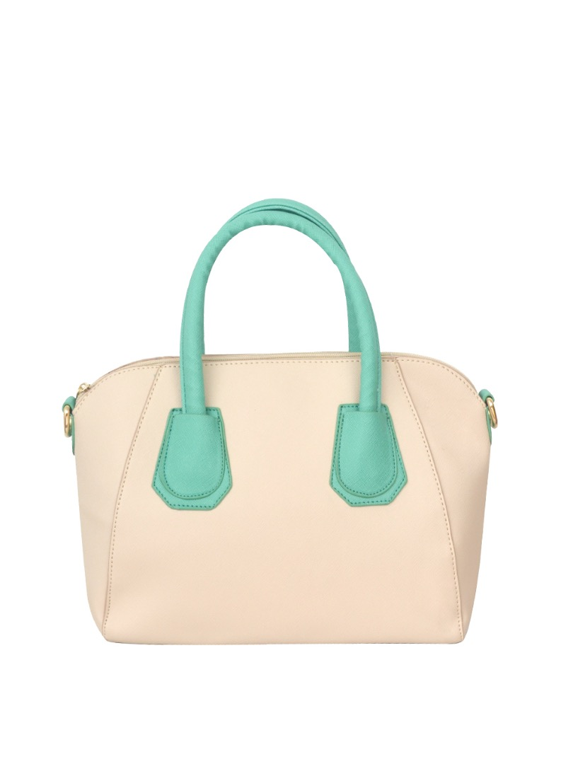 Choki Handbag - 5125 Choki Macaron Color Handbag with Sling Green RM49.00
