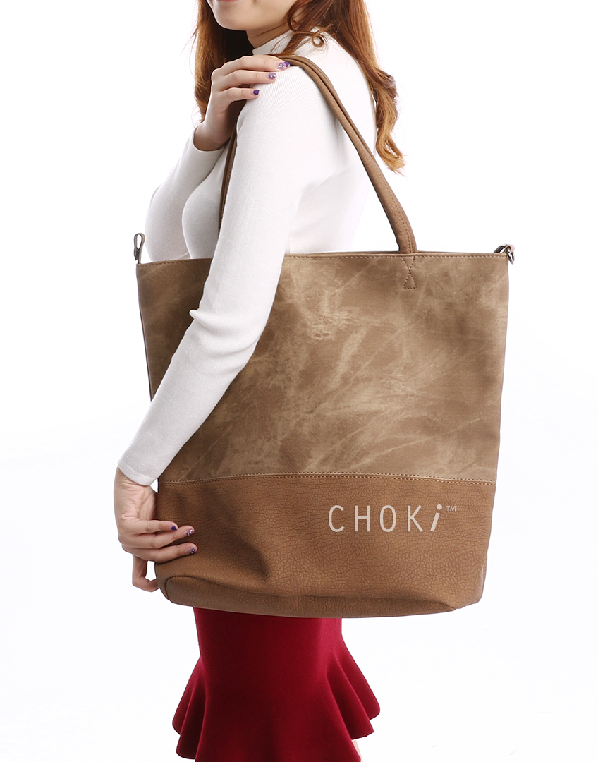 Choki.com.my - 6130 Dual Colour Casual Bag RM55.00