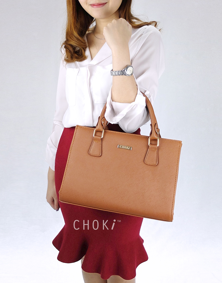 Choki Handbag - 6044 Classical Korean Trendy Handbag default RM59.00