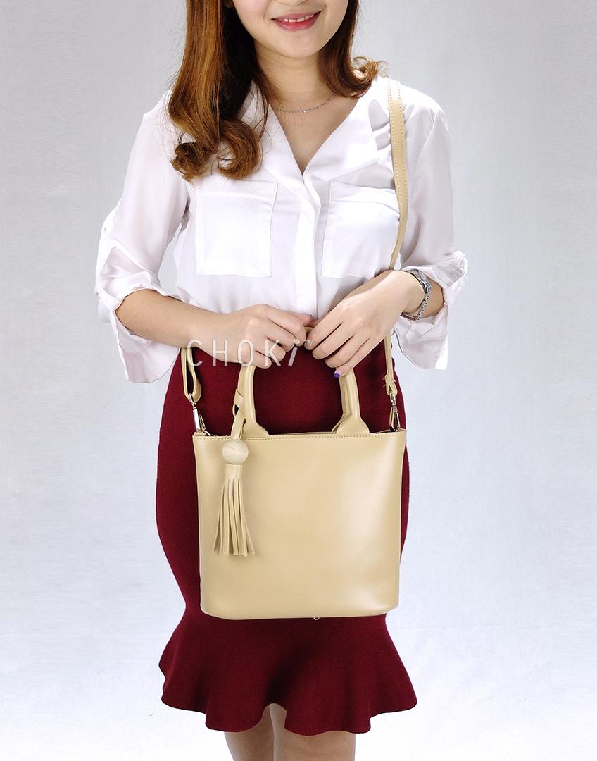 Choki.com.my - 6128 PU Leather Sling Bag RM36.00