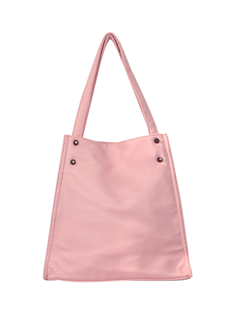 Choki Shoulder Bag - 5136 Choki Signature Korean Soft PU Handbag Pink RM59.00