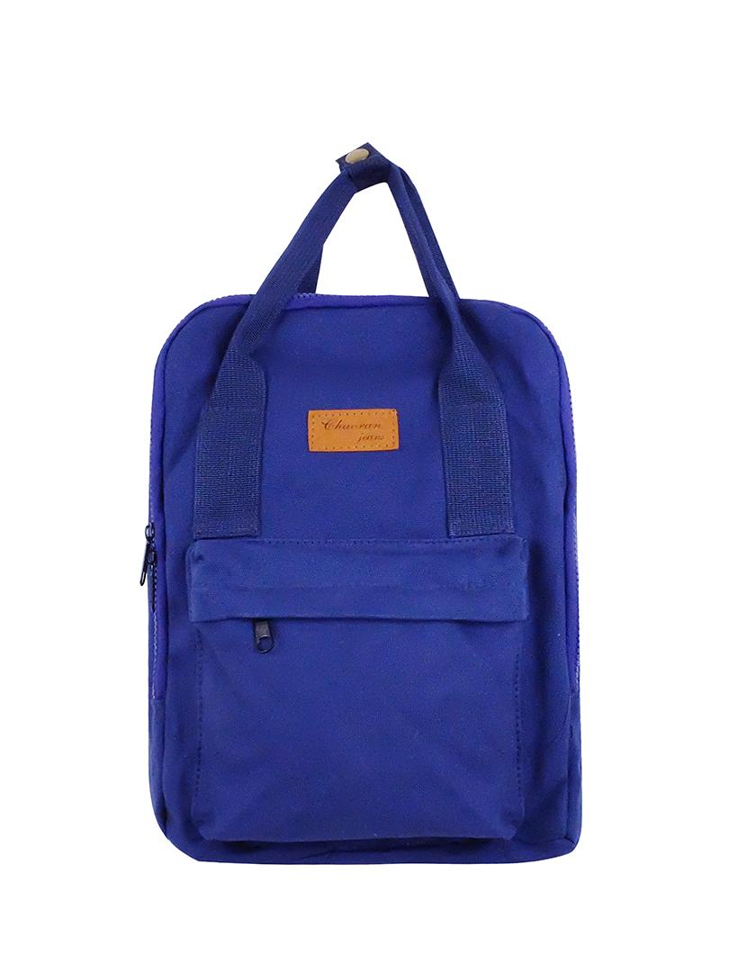 Choki Backpack - 6054 Choki Korean Canvas Backpack Blue RM55.00