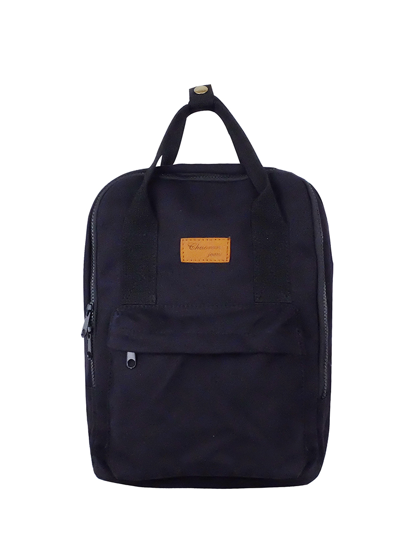 Choki Backpack - 6054 Choki Korean Canvas Backpack Black RM55.00