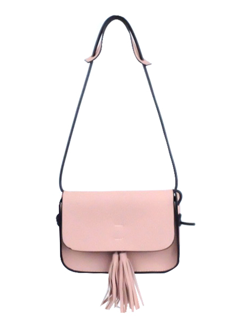 Choki Sling Bag - 6062 Choki Korean Sling Bag with Tassel Pink RM49.00