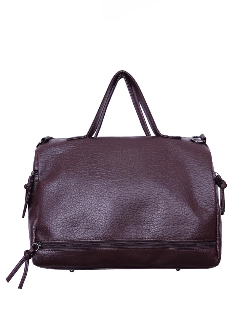 Choki Handbag - 6010 Choki Signature Korean Handbag with Sling Brown RM59.00