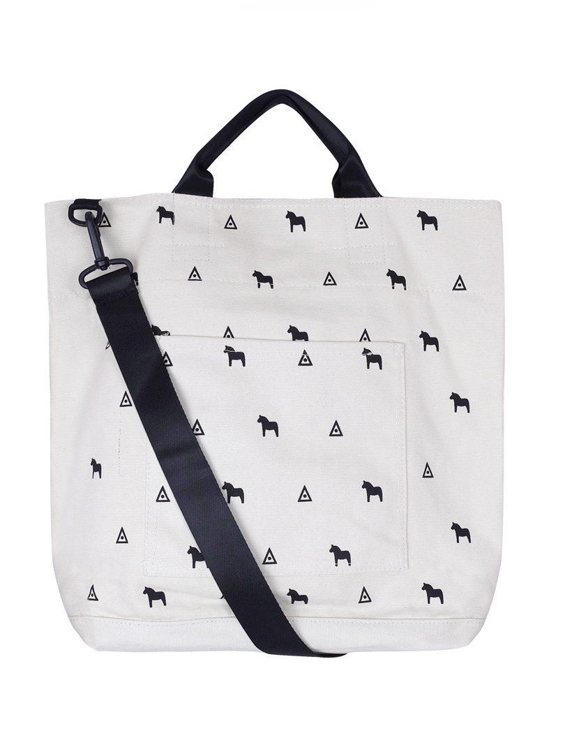 Choki Shoulder Bag - 5146 Korean Horsie Canvas Tote Bag White RM59.00