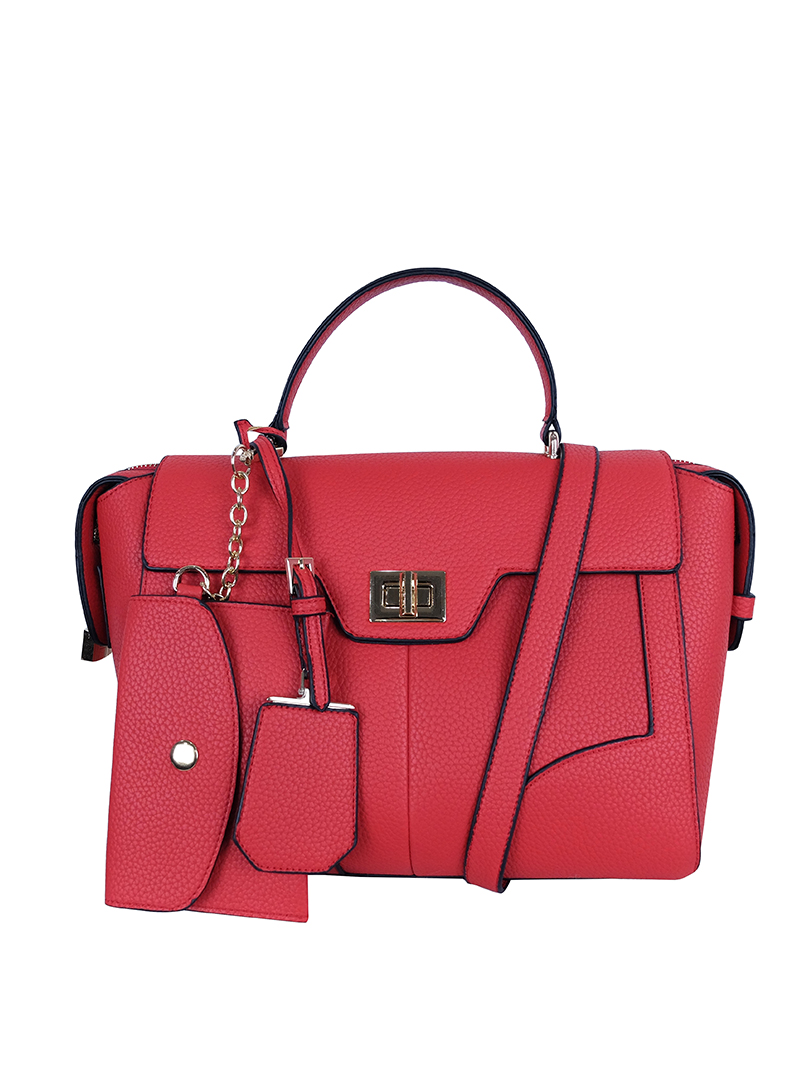 Choki Handbag - 6073 Choki Signature Elegant Handbag with Sling default RM109.00