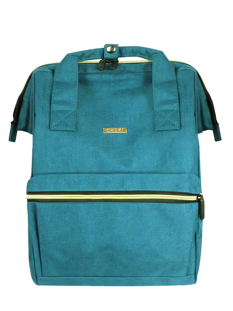 Choki Backpack - 6087 Choki Signature Korean Canvas Backpack Green RM69.00