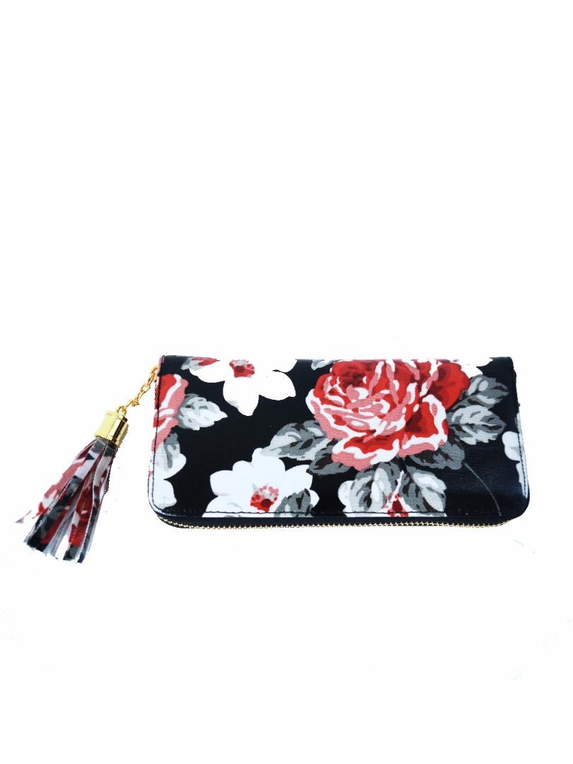 Choki Purse - P010 CHOKI Kidston Zipper Black RM39.00
