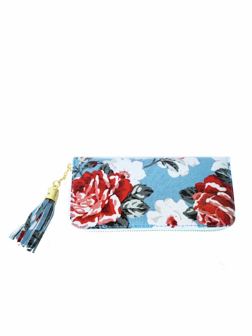 Choki Purse - P010 CHOKI Kidston Zipper Blue RM39.00
