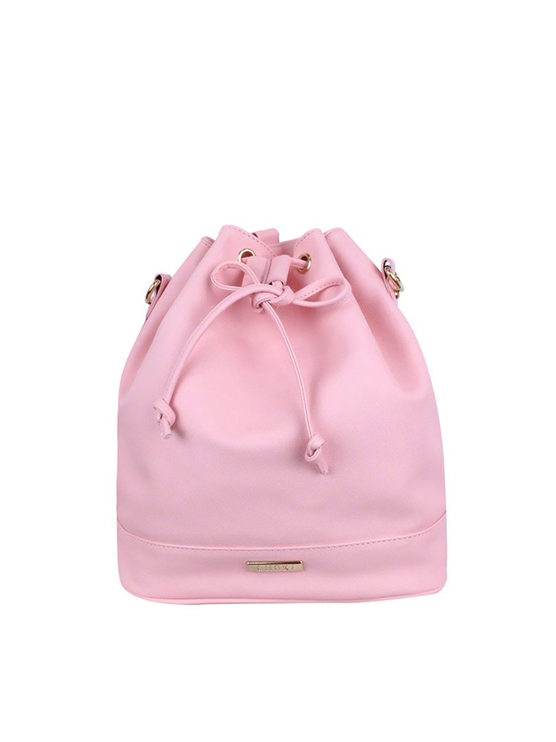 Choki Sling Bag - 6051 Choki Trendy Bucket Sling Bag Pink RM55.00