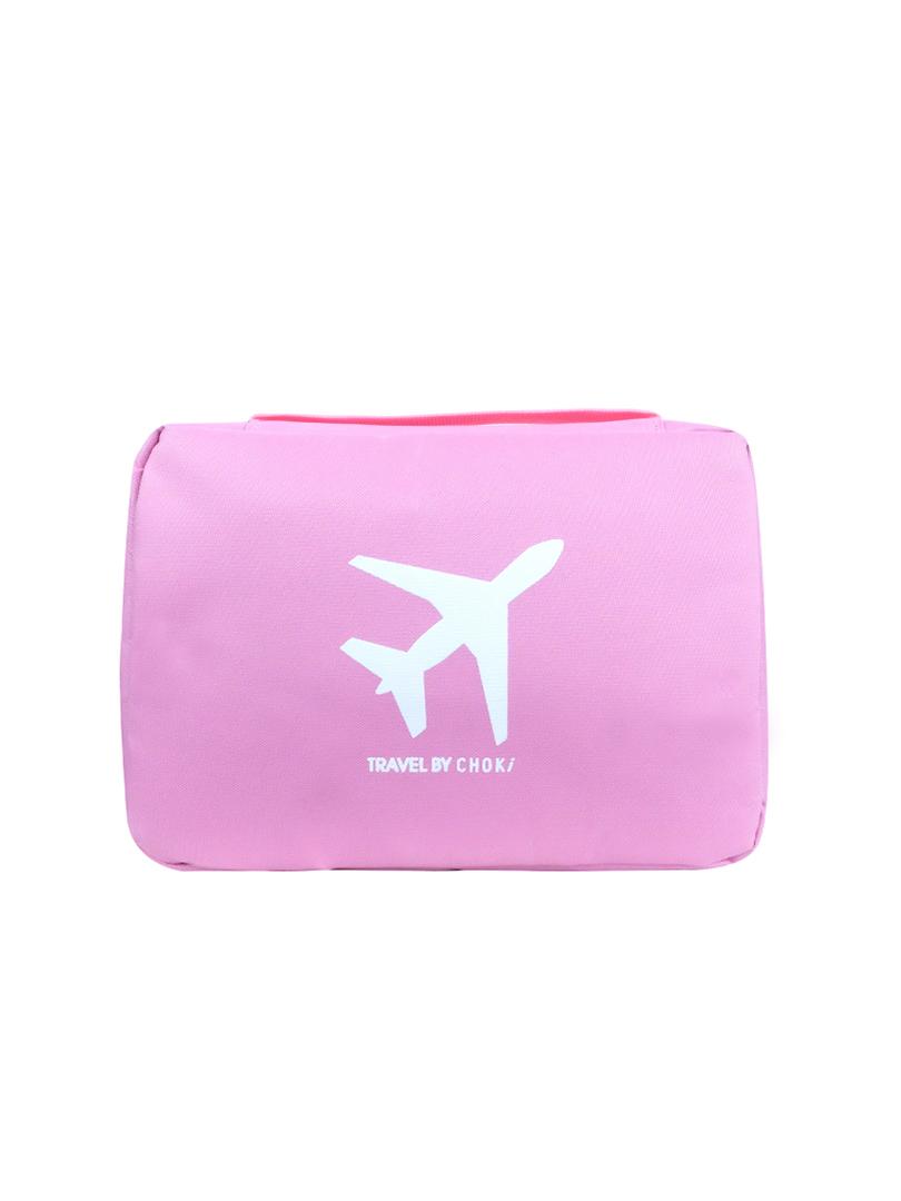 Choki travel bag - 6072 Choki Travel Toiletries Bag with Hanger Pink RM19.00