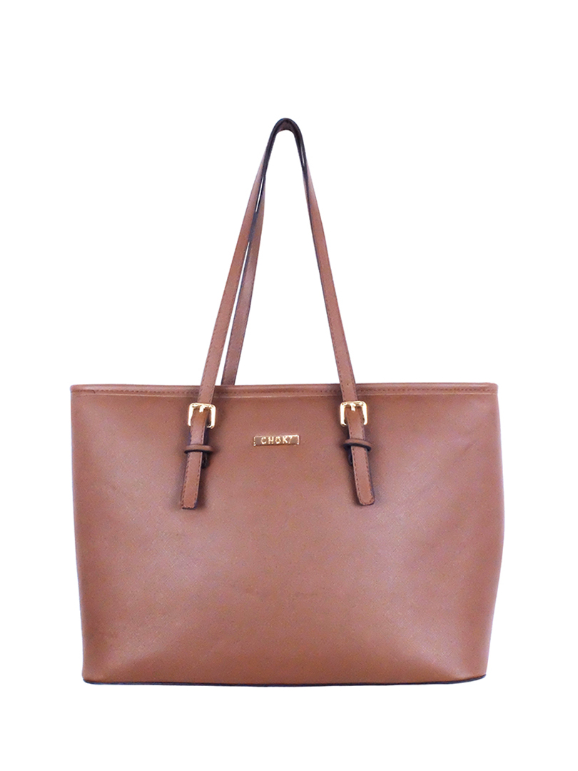 Choki Shoulder Bag - 6071 Simple Elegant OL Handbag Brown RM89.00