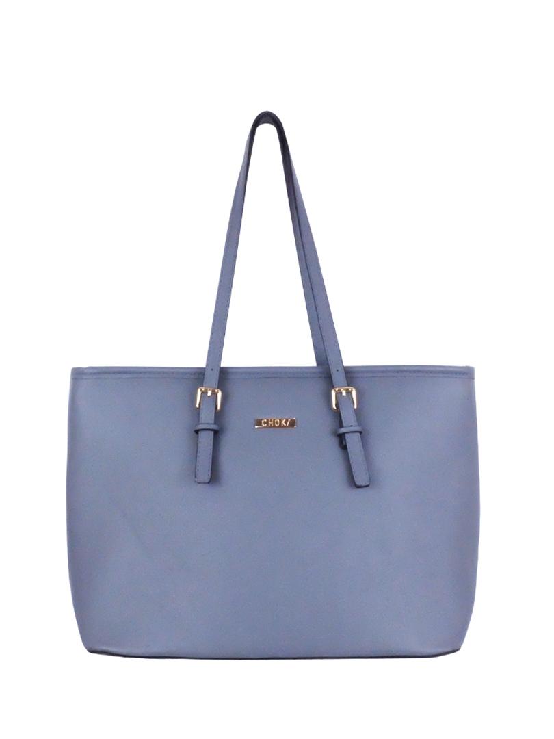 Choki Shoulder Bag - 6071 Simple Elegant OL Handbag Grey RM89.00