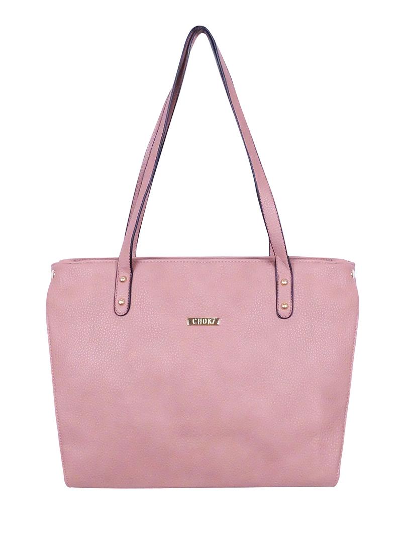 Choki Shoulder Bag - 6077 Simple Tradition OL Handbag Pink RM65.00