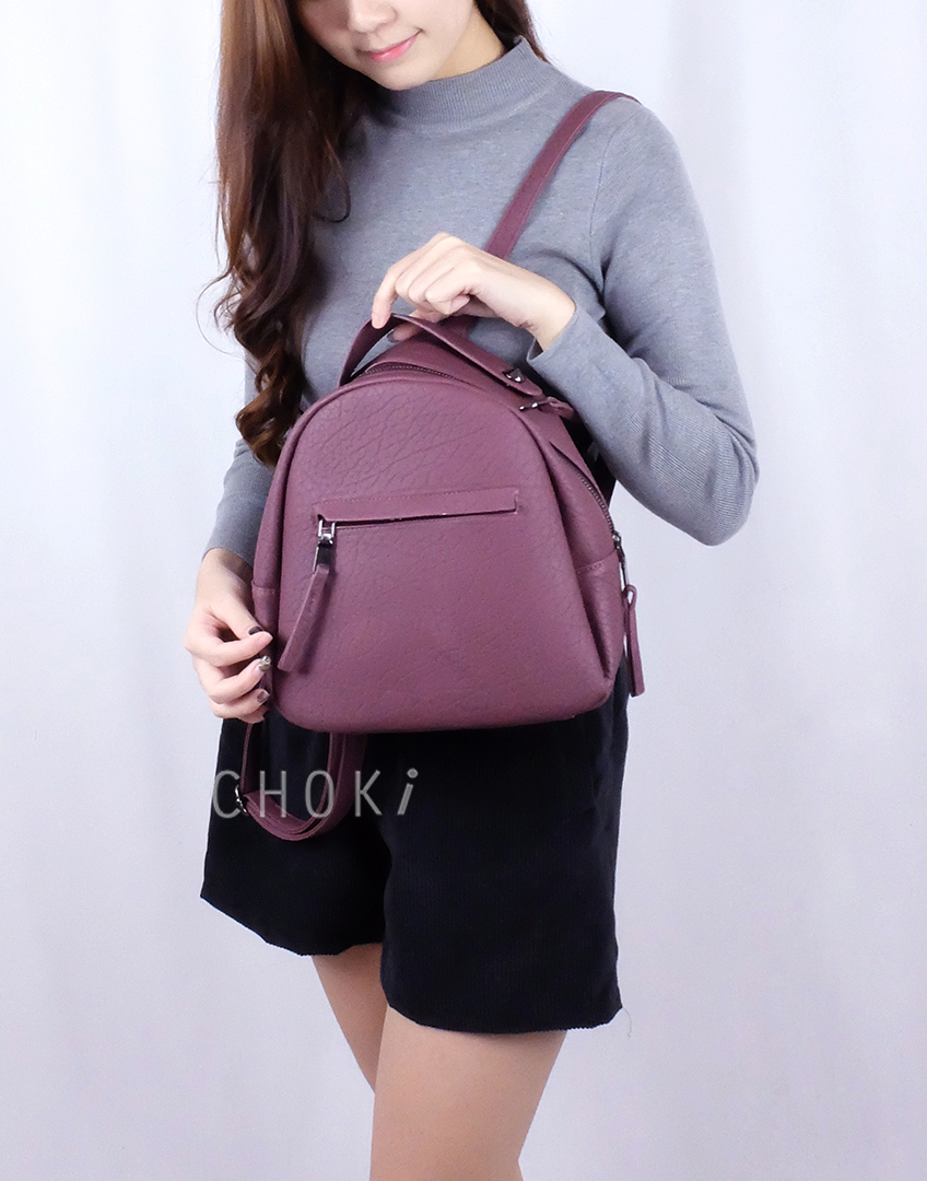 Choki Backpack - 6012 Simple Trendy Backpack default RM55.00