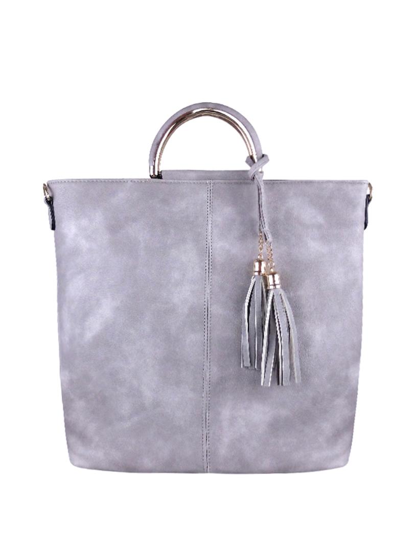 Choki.com.my - 6127 Korean Elegant Tassel Handbag RM45.00