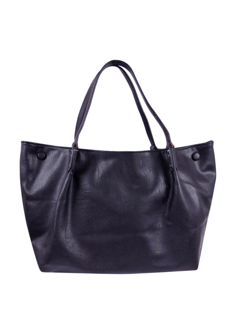 Choki Shoulder Bag - 6144 Korean OL Style Handbag Black RM65.00