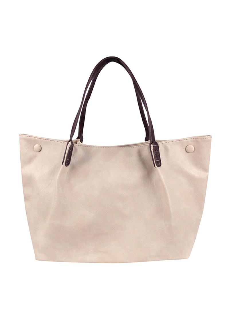 Choki Shoulder Bag - 6144 Korean OL Style Handbag Beige RM65.00