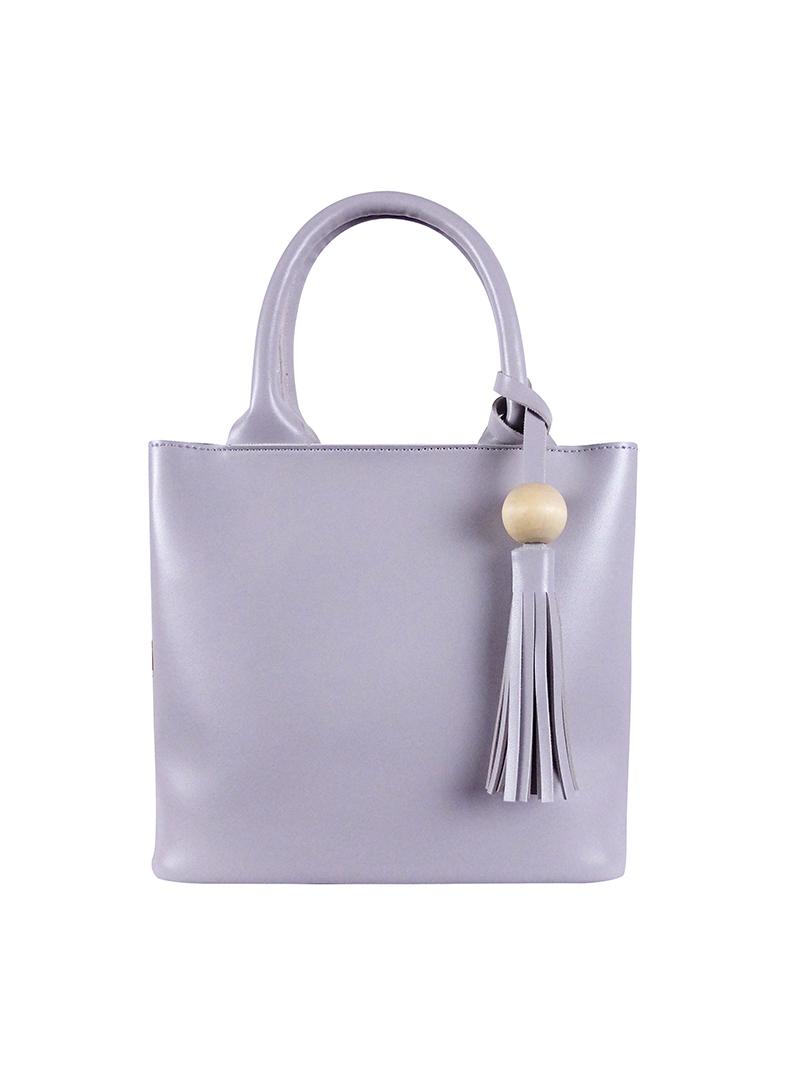 Choki Sling Bag - 6128 PU Leather Sling Bag Grey RM45.00