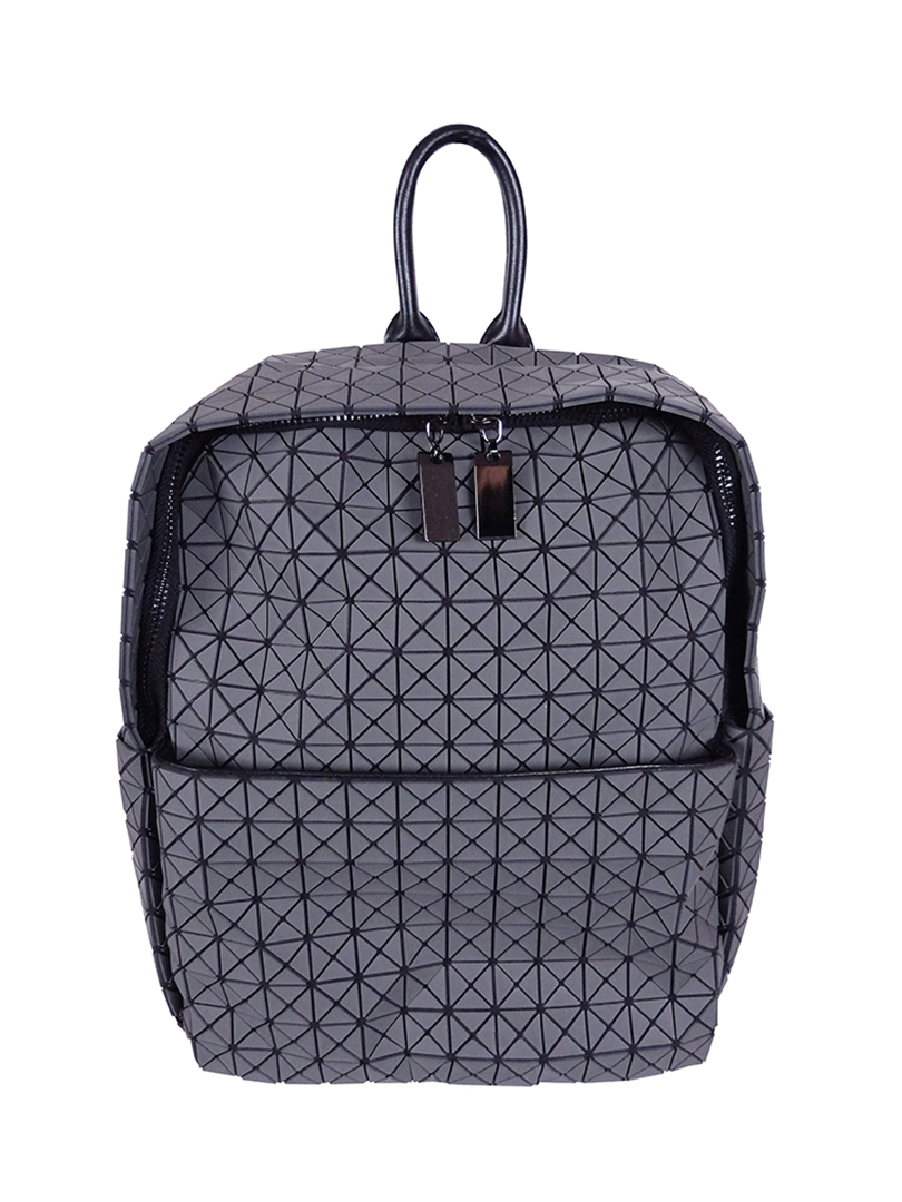 Choki.com.my - 5179 Geometric Shinny Backpack RM139.00