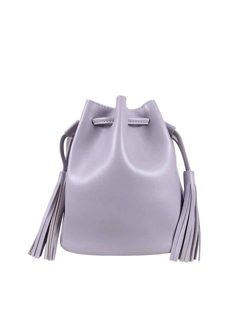 Choki Sling Bag - 6122 Retro Tassel Bucket Sling Bag default RM49.00