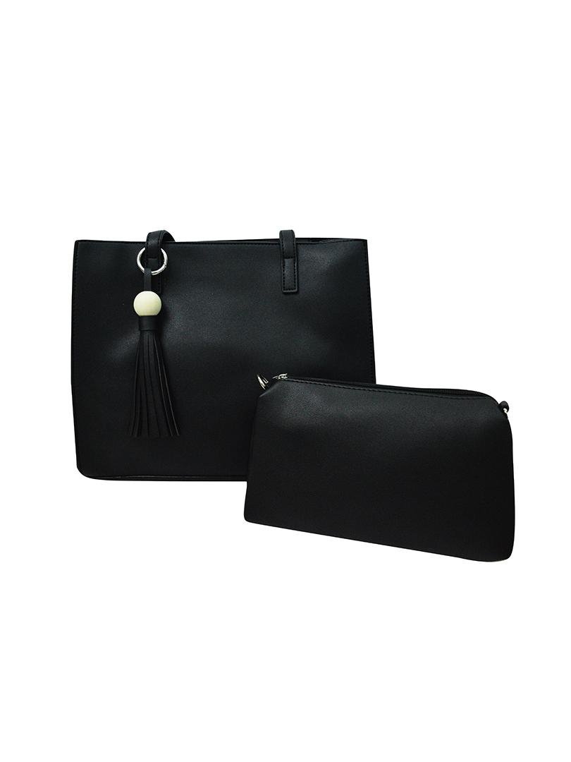 Choki Shoulder Bag - 7009 Elegant Shoulder Bag W.Small Bag Black RM69.00