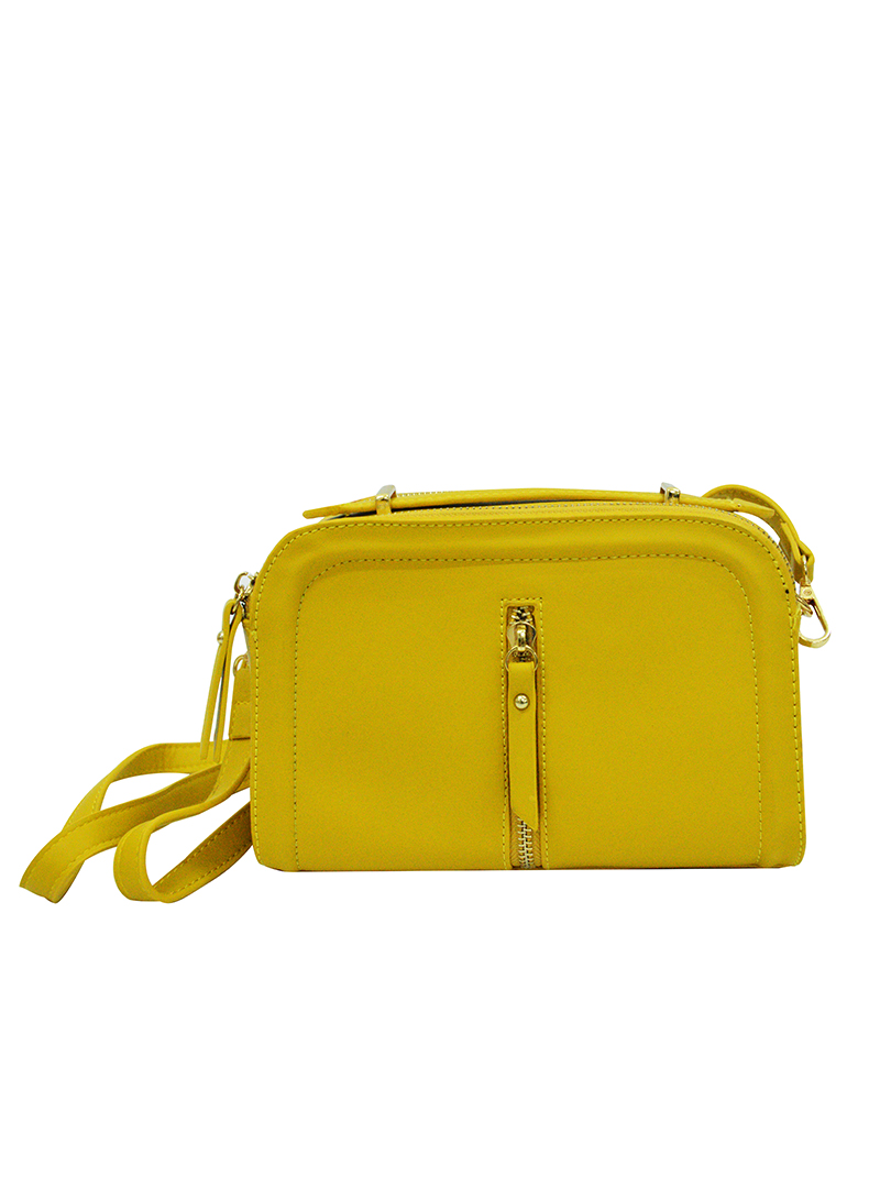 Choki Sling Bag - 7024 Trendy PU Sling Bag  Yellow RM59.00