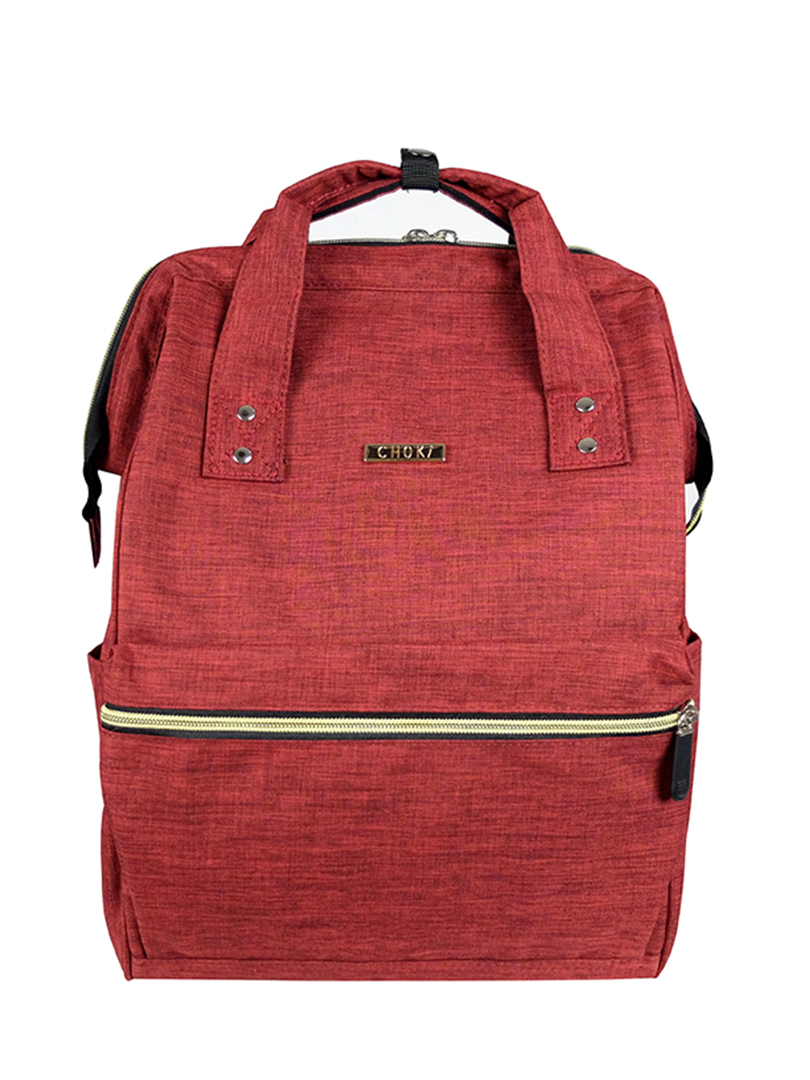Choki.com.my - 6088 Choki Signature Korean Canvas Backpack RM55.20