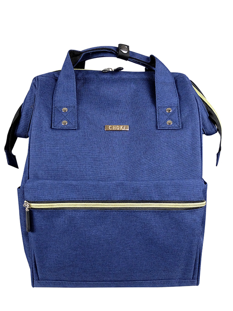 Choki Backpack - 6087 Choki Signature Korean Canvas Backpack Blue RM69.00