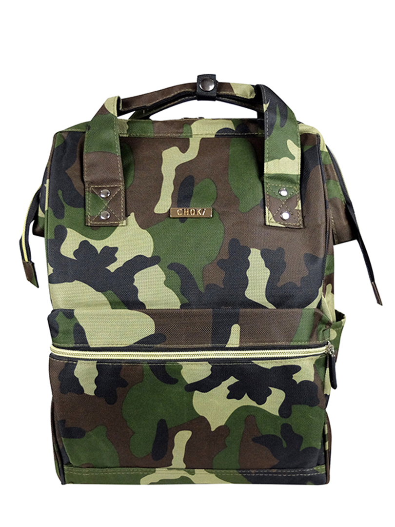 Choki.com.my - 6087 Choki Signature Korean Canvas Backpack RM55.20