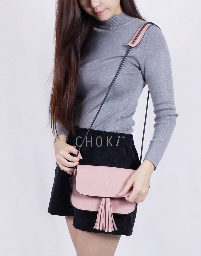 Choki Sling Bag - 6062 Choki Korean Sling Bag with Tassel default RM49.00