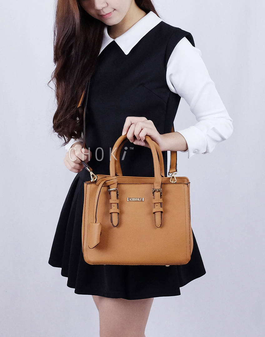 Choki.com.my - 6069 Choki Signature Classic Handbag with Sling RM95.00
