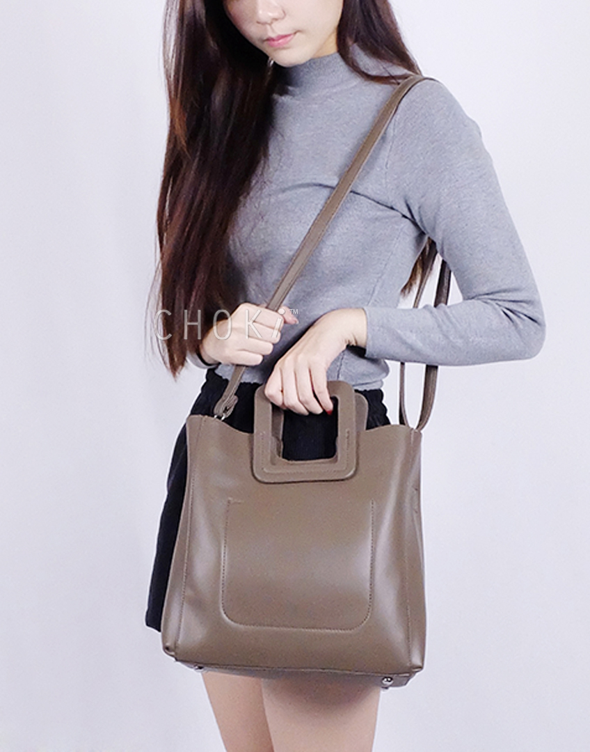 Choki.com.my - 6066 Choki Korean Stylish Handbag with Sling RM47.20