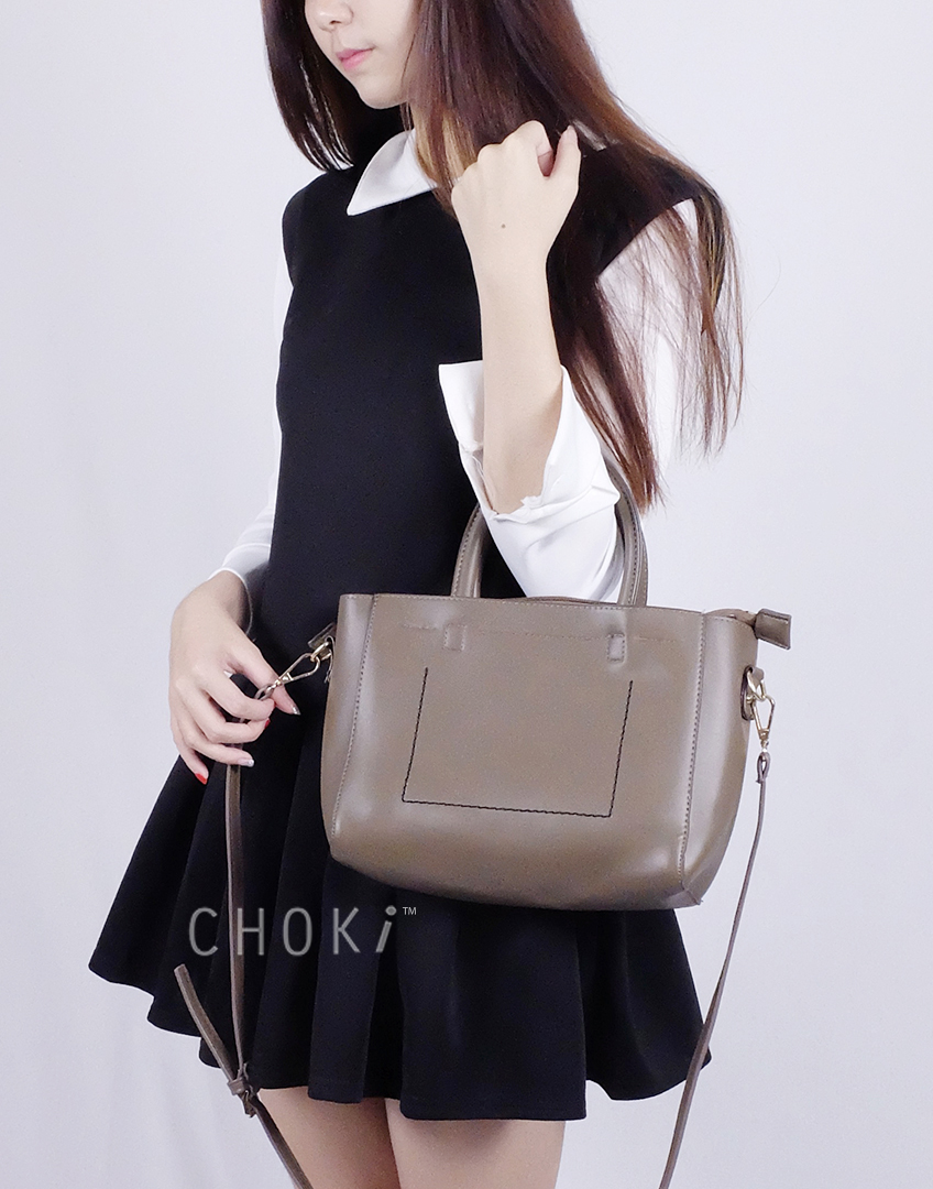 Choki.com.my - 6061 Choki Korean Style Handbag with Sling RM55.00