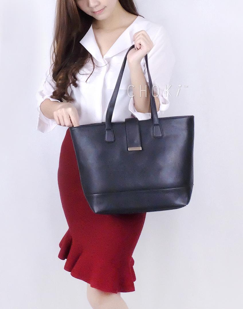 Choki.com.my - 6080 Classic PU Shoulder Handbag RM49.00